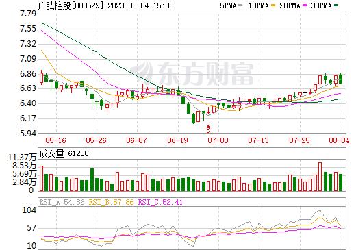 广弘控股(000529)