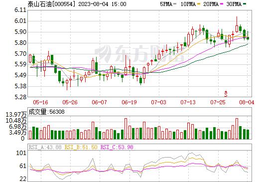 泰山石油(000554)