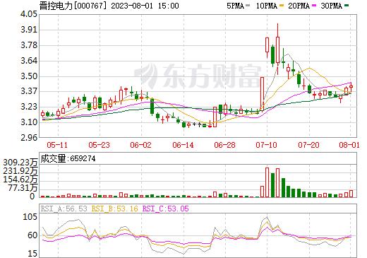 漳泽电力(000767)