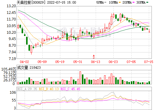 天音控股(000829)