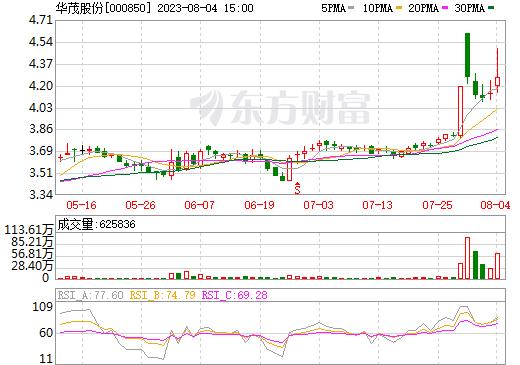 华茂股份(000850)
