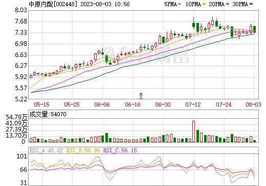 中原内配(002448)