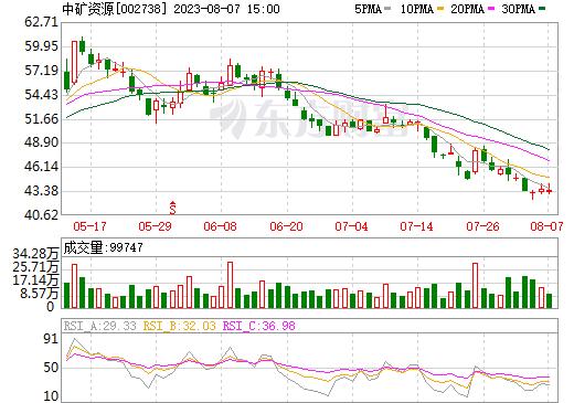 中矿资源(002738)