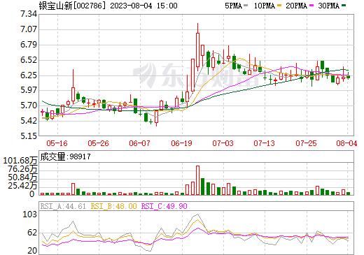银宝山新(002786)