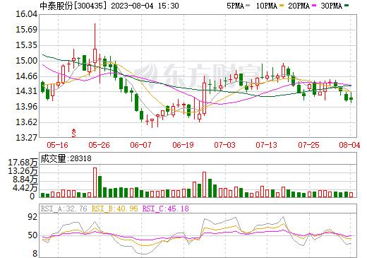 中泰股份(300435)