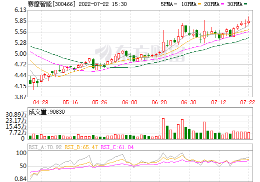 赛摩电气(300466)