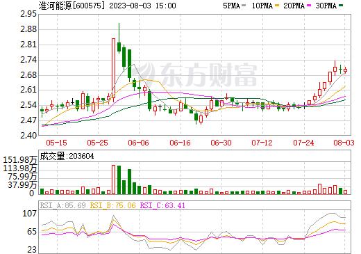 XD淮河能(600575)