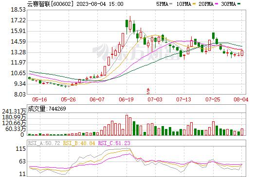 云赛智联(600602)