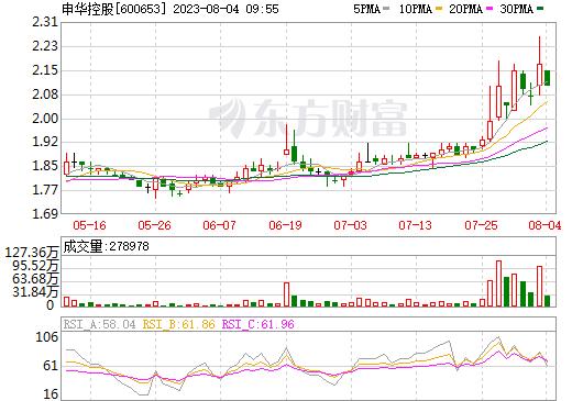 申华控股(600653)