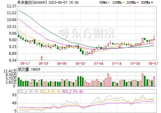 禾丰牧业(603609)