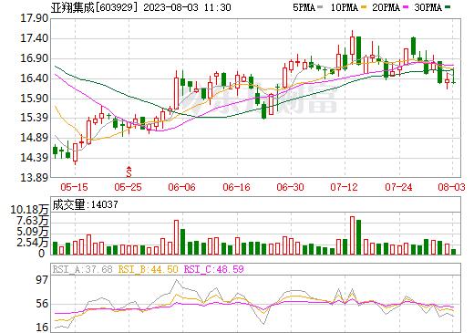 亚翔集成(603929)