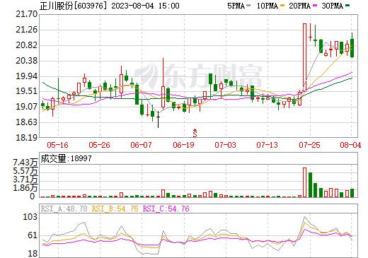 正川股份(603976)
