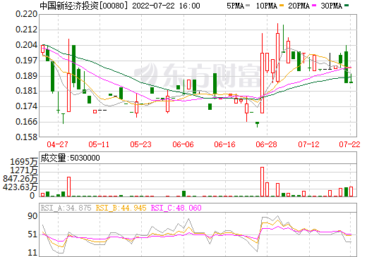 中国新经济投资(00080)