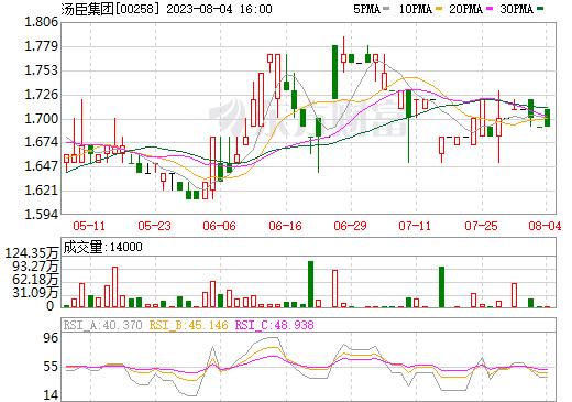 汤臣集团(00258)
