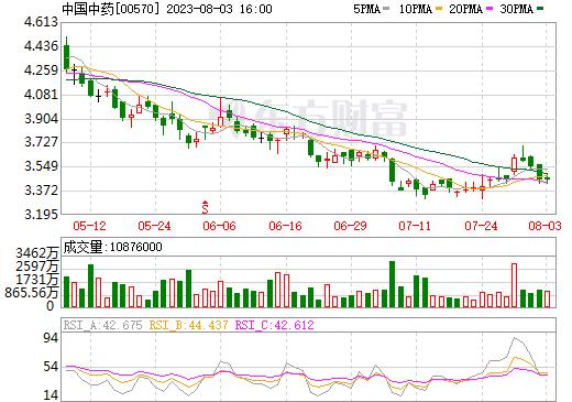 中国中药(00570)