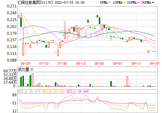 汇银控股集团(01178)