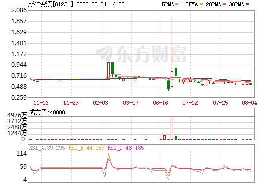新矿资源(01231)