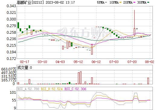 高鹏矿业(02212)