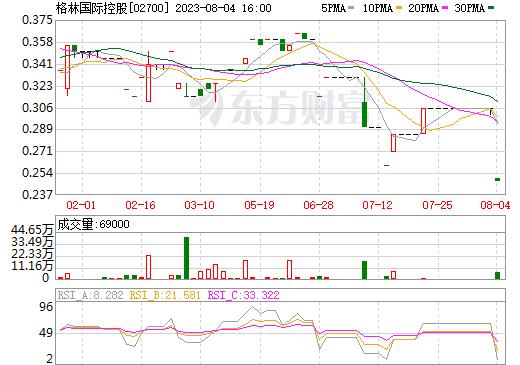 格林国际控股(02700)