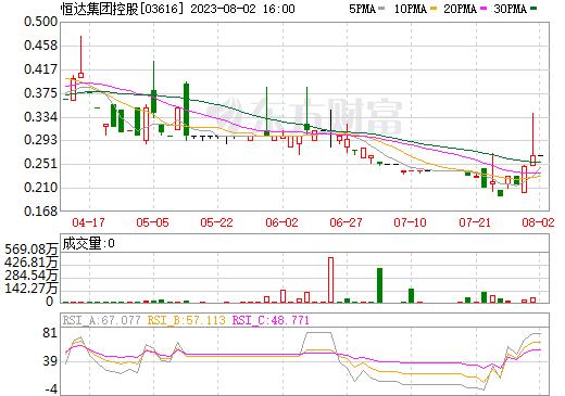恒达集团控股(03616)