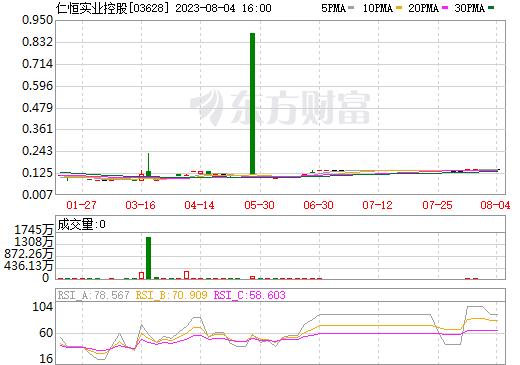 仁恒实业控股(03628)