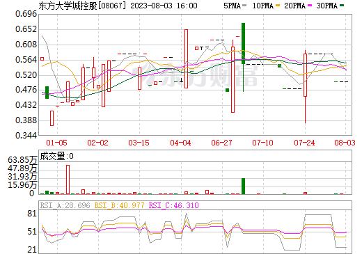 东方大学城控股(08067)