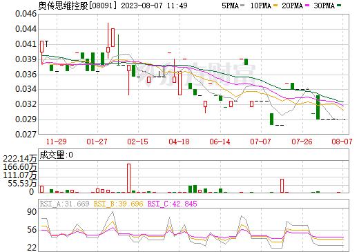 奥传思维控股(08091)