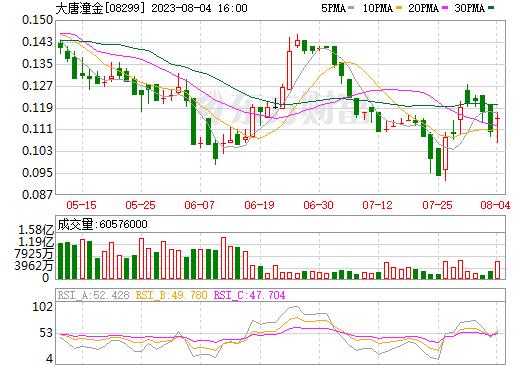 大唐潼金(08299)