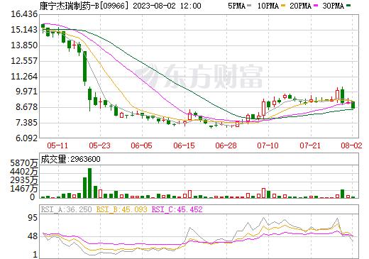 康宁杰瑞制药-B(09966)