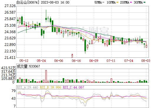 白云山(00874)