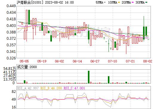 沪港联合(01001)