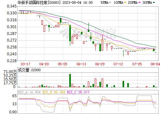 华新手袋国际控股(02683)
