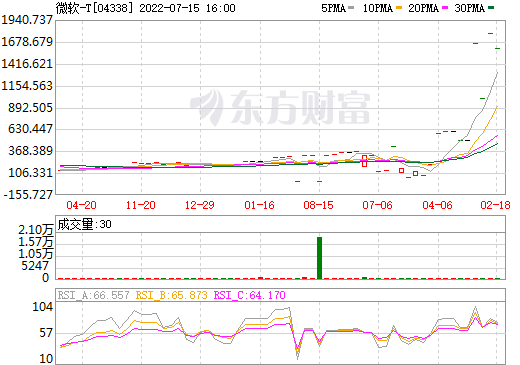 微软-T(04338)