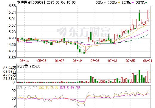 绵石投资(000609)