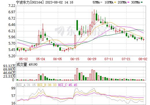 宁波东力(002164)