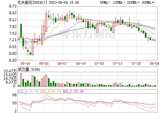 ST尤夫(002427)