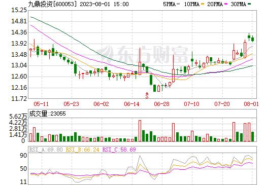 九鼎投资(600053)