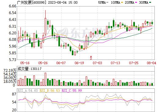广州发展(600098)