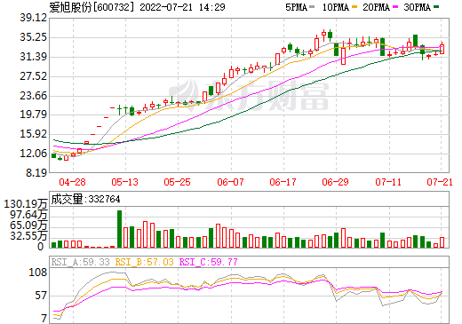 ST新梅(600732)