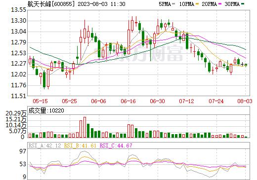 航天长峰(600855)