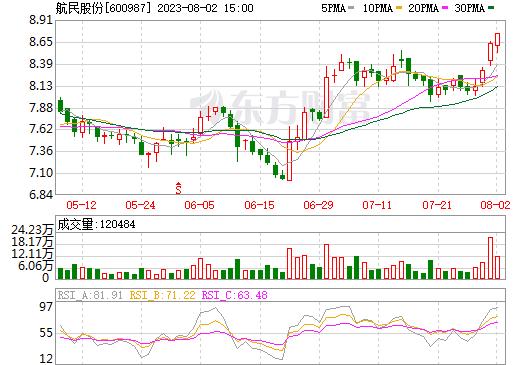 航民股份(600987)