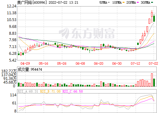 贵广网络(600996)