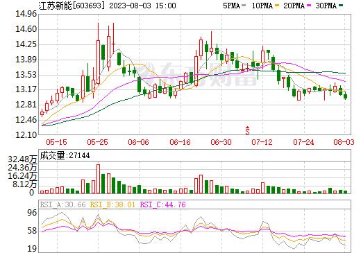江苏新能(603693)