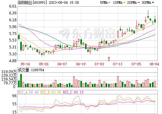 洛阳钼业(603993)