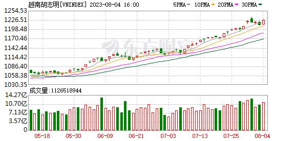 越南指数(VNINDEX)