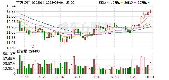 「唐山股票配资」东方盛虹上半年净利同比增长