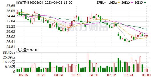 顺鑫农业股票