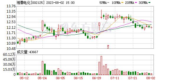 湘潭电化科技有限公司关于持股超过5%的股东减持股份预披露的公告