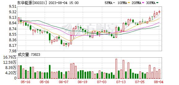 东华能源股票
