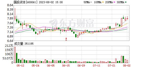 中国投资资本(600061)保证金信息(06-12)